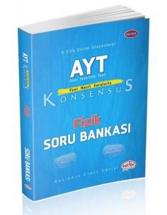 Editör Yayınları AYT Konsensüs Fizik Soru Bankası