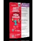 Sınav Yayınları 1. Sınıf Tüm Dersler Yaprak Test