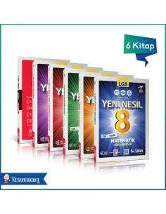 Sınav Yayınları 8. Sınıf LGS Yeni Nesil Soru Bankası Kampanyalı Tam Set (5 Kitap)
