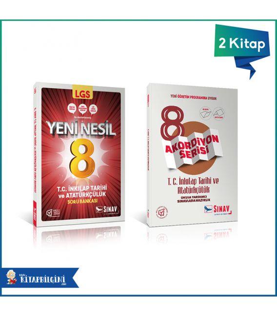 Sınav Yayınları LGS T.C İnkılap Tarihi Kazandıran Set (2 Kitap)