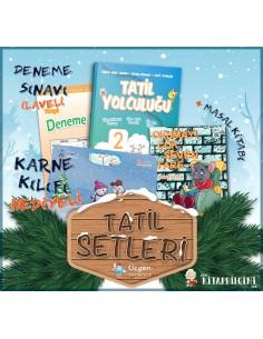 Üçgen Yayınları 2. Sınıf Yarıyıl Tatil Yolculuğu Seti