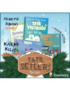 Üçgen Yayınları 4. Sınıf Yarıyıl Tatil Yolculuğu Seti