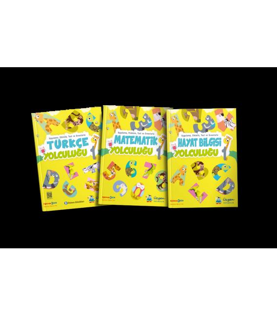 Üçgen Yayınları 1.Sınıf İlkokul Yolculuğu Seti