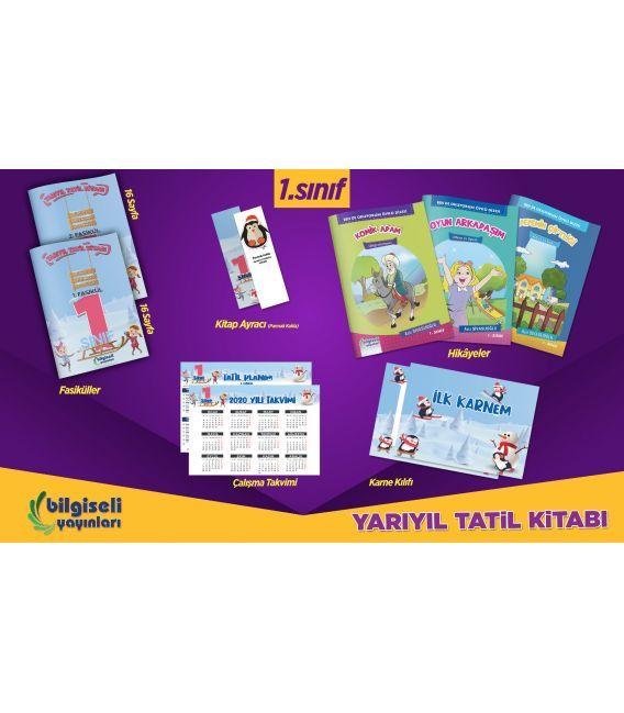 Bilgiseli Yayınları 1. Sınıf Yarıyıl Tatil Kitabı