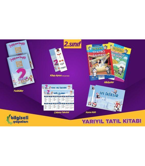Bilgiseli Yayınları 2. Sınıf Yarıyıl Tatil Kitabı