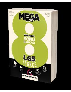 Cevap Yayınları 8. Sınıf LGS MEGA 8 Türkçe Soru Bankası
