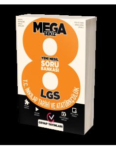 Cevap Yayınları 8. Sınıf LGS MEGA 8 T.C. İnkılap Tarihi Soru Bankası