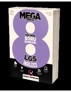 Cevap Yayınları 8. Sınıf LGS MEGA 8 İngilizce Soru Bankası