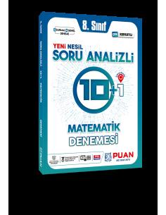 Puan Yayınları 8. Sınıf LGS Matematik Soru Analizli 10+1 Deneme