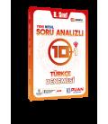 Puan Yayınları 8. Sınıf LGS Türkçe Soru Analizli 10+1 Deneme