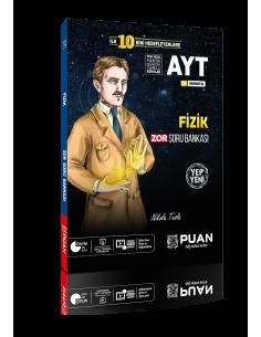Puan Yayınları AYT Fizik Zor Soru Bankası