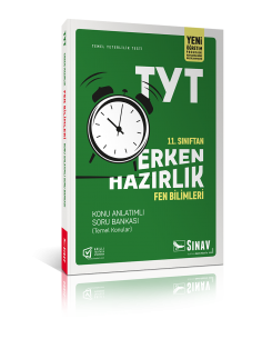Sınav Yayınları 11. Sınıf TYT Erken Hazırlık Fen Bilimleri Konu Anlatımlı Soru Bankası