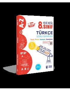 Teas Press 8. Sınıf LGS Teaskop Yeni Nesil Türkçe Soru Bankası