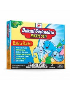 Adeda Yayıncılık Balina Baliba ile Dikkatimizi Güçlendirelim(10 Kitap)