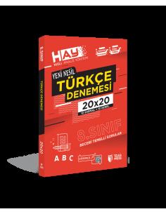 Teas Press 8. Sınıf LGS HAY Türkçe 20x20 Branş Deneme