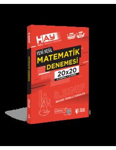 Teas Press 8. Sınıf LGS HAY Matematik 20x20 Branş Deneme