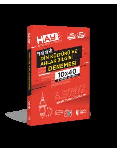 Teas Press 8. Sınıf LGS HAY Din Kültürü 10x40 Branş Deneme