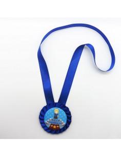Mudu Ayın Öğrencisi - Madalya Kokart - Mavi