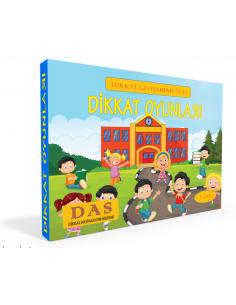 Yuka Kids 1. Sınıf Dikkat Oyunları - Dikkat Geliştirme Seti