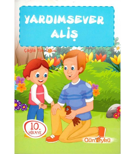 Gün Öykü Yayınları Aliş'in Maceraları 1. Set (10 Kitap)