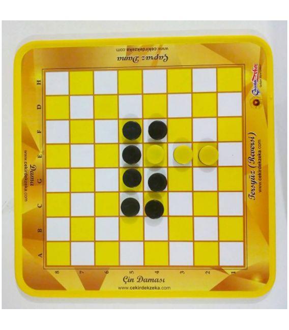 Ters Yüz (Reversi) Oyunu - 5 Oyun Bir Arada - Çekirdek Zeka