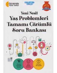 Akıllı Adam Yeni Nesil Yaş Problemleri Tamamı Çözümlü Soru Bankası