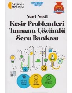 Akıllı Adam Yeni Nesil Kesir Problemleri Tamamı Çözümlü Soru Bankası