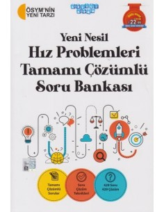 Akıllı Adam Yeni Nesil Hız Problemleri Tamamı Çözümlü Soru Bankası