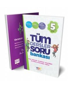 Tdy Yayınları 5. Sınıf Tüm Dersler Soru Bankası
