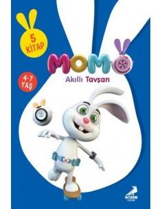 Erdem Yayınları Akıllı Tavşan Momo (5 kitap )