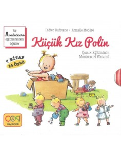 Coki Yayıncılık Küçük Küçük Kız Polin  Kitap Seti (7 Kitap 14 Öykü)