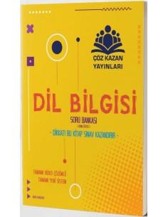 Çöz Kazan Yayınları TYT Dil Bilgisi Konu Özetli Soru Bankası