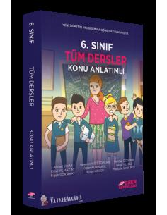 Esen Yayınları 6.Sınıf Tüm Dersler Konu Anlatım