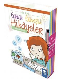 Mavi Kirpi Yayınları Günlük Güneşlik Hikayeyeler Seti  (10 Kitap)