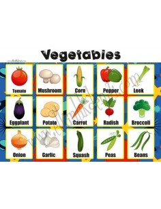 Mudu Vegetables Poster