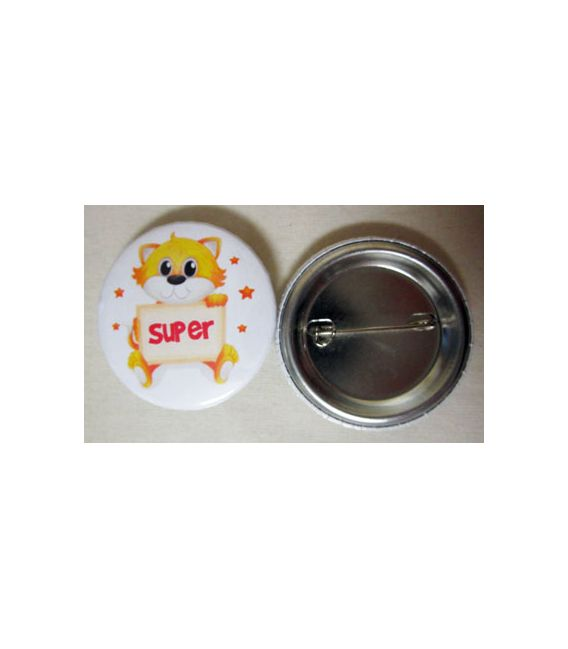 Mudu Super Badge (Cat) 37 mm