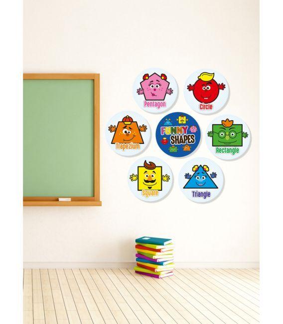 Mudu Shapes (7 pieces) wall decor
