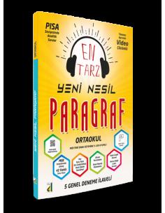 Damla Yayınları Ortaokul Yeni Nesil Paragraf Soru Bankası