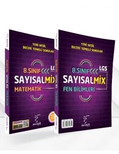Karekök 8.Sınıf LGS Sayısal Mix (Matematik-Fen)