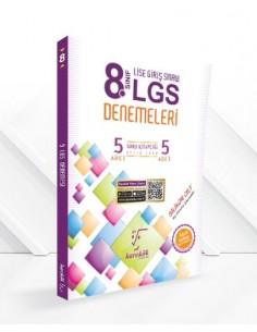 Karekök 8.Sınıf LGS 5'li Deneme Sınavı