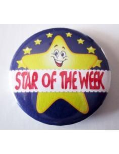 Mudu Star of the week bagde 44 mm