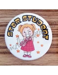 Mudu Star Student (Girl) Badge 37 mm