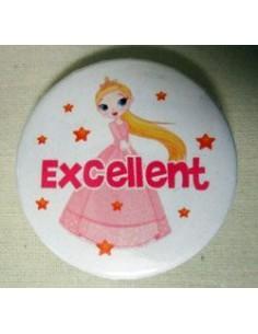 Mudu Excellent Badge (Princess) 37 mm