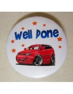 Mudu Well Done Badge (Car) 44 mm