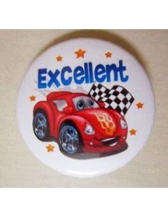 Mudu Excellent Badge (Car) 44 mm