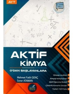 Aktif Öğrenme Yayınları AYT Aktif Kimya 0'dan Başlayanlara
