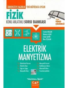 Çap Fizik Elektrik Manyetizma Konu Anlatımlı Soru Bankası