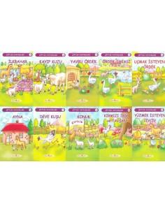 Gün Öykü Çiftlik Hayvanları Serisi (10 Kitap)