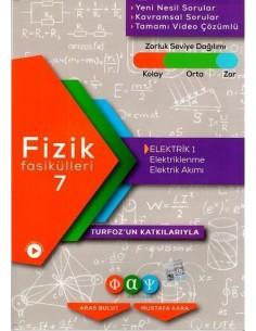 Fiziksel Alan Yayınları Fizik Fasikülleri 7 Elektrik 1