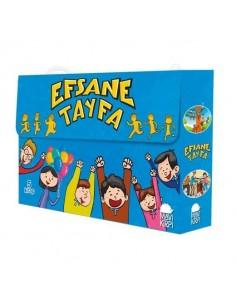 Mavi Kirpi Yayınları Efsane Tayfa Set (5 Kitap)